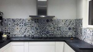 Ornamentfliesen Küche